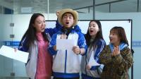 抗击疫情征文活动,学生边跳边唱表演,全部都是满分