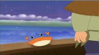 传说的民间故事,《螃蟹报恩》。