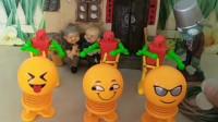 少儿亲子育儿幼教:乔治能套中中间的笑脸玩具吗