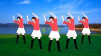 益馨广场舞《情人雨》一首悦耳的歌,几组简单又欢畅的动作,附教学