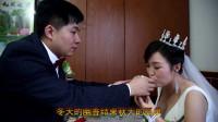 35岁新娘怀着孕嫁给28岁小伙,彩礼要了88万,猜猜新郎啥身份