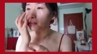 """油痘肌化妆小白的超详细""""港风""""妆步骤+Nars wanted mini六色眼影+日本Etvos矿物粉底测评"""