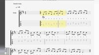 每个吉他高手都会大量练习这些音阶模进(Mi型第二把位有声谱)