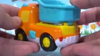 小企鹅啵乐乐的工程汽车亲子玩具