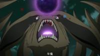 火影:人柱力统一着装带尾兽对抗外道魔像,魔像报废,小迪和蝎仓皇逃窜
