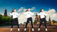 最近又火了一首《DJ空城》64步简单网红健身舞