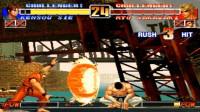 拳皇96:坂崎良遭遇最憋屈一战,椎拳崇秀操作人间消失,坂崎良只能等死