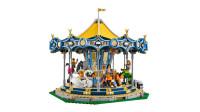 LEGO乐高积木玩具创意系列10257旋转木马套装速拼