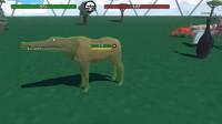 魔哒动物融合模拟器:如果鳄鱼和牛合体会变成什么奇怪的样子