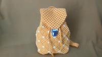 创意编织手工——用绳子编一个双肩包