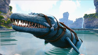 【虾米】方舟:创世纪EP4,骑着龙王鲸探索深海,建造海洋基地!
