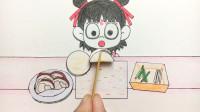 手绘定格动画:肉怎么吃不腻呢?哪吒最近爱上了北京烤鸭
