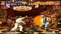 拳皇94:龙虎之拳队超杀表演秀,坂崎琢磨超杀最酷,果然姜还是老的辣