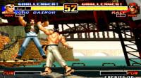 拳皇96:会浮空的拉尔夫了解一下,头巾哥秀神技浮空无敌,大门打不到气得捶地