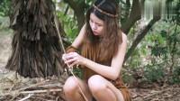 越南小妹:深山手工美女自我隔离,远离人群,制作手工创意编织