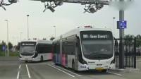 看了美国的公交车充电,才知道有多先进,美国科技太发达了