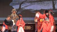 秦腔《双锦衣》演出,演员在表演上配合紧凑,乐队伴奏也很给力
