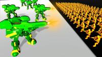 魔哒玩具兵模拟器:携带8种不同的武器,还能建造战斗堡垒对抗机器人