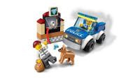 LEGO乐高积木玩具城市系列60241警犬突击队套装速拼