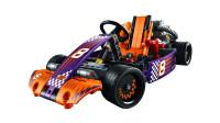 LEGO乐高积木玩具科技机械组系列42048跑跑卡丁车套装速拼