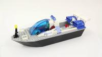 LEGO乐高积木玩具城市系列4669警察快艇套装速拼