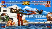 拳皇95:八神与草薙京的双KO表演赛,两位老司机演技直追奥斯卡影帝