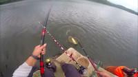 带你体验钓鱼人的乐趣,第一视角直击中鱼全过程!