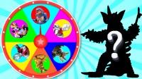 奥特曼玩具转盘游戏大全:迪迦、赛罗和泰迦奥特曼,益智玩具游戏