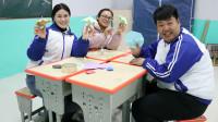 王小九手作:老师学习用卡纸做伞,没想老师竟这么厉害,做的比王小九还好看