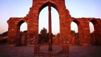 印度神秘铁柱,矗立千年竟不锈,如同金箍棒一样神奇