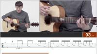 卢家宏《时光》教学【下】 谱例同步 吉他指弹教学 元子弹