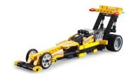 LEGO乐高积木玩具CaDa系列C52017直线回力赛车套装速拼