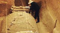 郑州一工地发现金字塔状古墓,和埃及金字塔有关系?