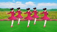 广场舞《山谷里的思念》轻松的旋转,快乐的走步,简单美美一支舞