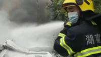 湖南火车侧翻事故致1死4重伤,123人轻伤