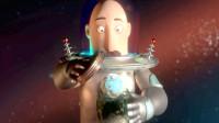 科幻片:男主突然变大,大到地球都装不下,原来是地球被缩小
