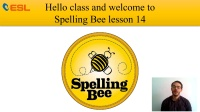 Splling Bee lesson14
