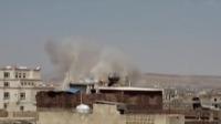 多国联军大规模空袭也门胡塞武装目标 新闻30分 20200331