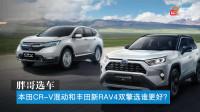 胖哥选车 本田CR-V混动和丰田新RAV4双擎选谁更好?