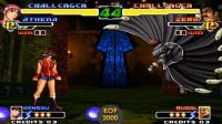 拳皇2000:雅典娜与ZERO比超杀,两人一起开大招谁能站到最后?