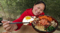 胖妹做韩式拌饭,成本只需几块钱,色香味俱全,大口扒饭吃过瘾