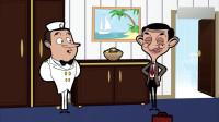 憨豆先生:服务员要小费,憨豆却给他糖纸,太扣了了吧