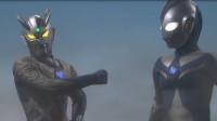 奥特曼:迪迦、赛罗对战变异超大怪兽!