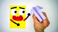 折纸都会说话了,就不能放过它一马吗,为什么还要把它折成纸飞机