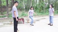 田田的童年搞笑短剧:同学们比赛踢毽子,输的同学要请大家吃辣条,结果大锤同学输惨了