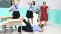 学霸王小九:学生挑战一口气唱完一首歌,同学差点唱晕,没想学霸却轻松完成