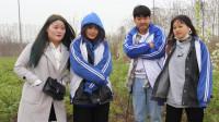 校园剧:老师带同学看梨树,同学们却想着什么时候能吃,小吃货