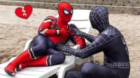 蜘蛛侠好伤心,是不是失恋了?