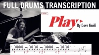 ★ME威律动★Dave Grohl - PLAY (Transcription)