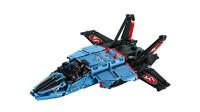 LEGO乐高积木玩具科技机械组系列42066空中竞速喷气式飞机套装速拼